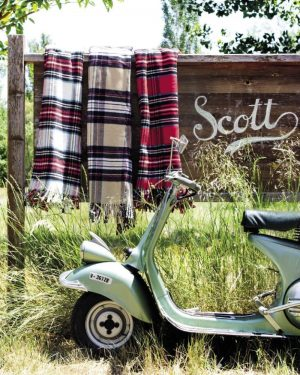 plaid premium scott vacances