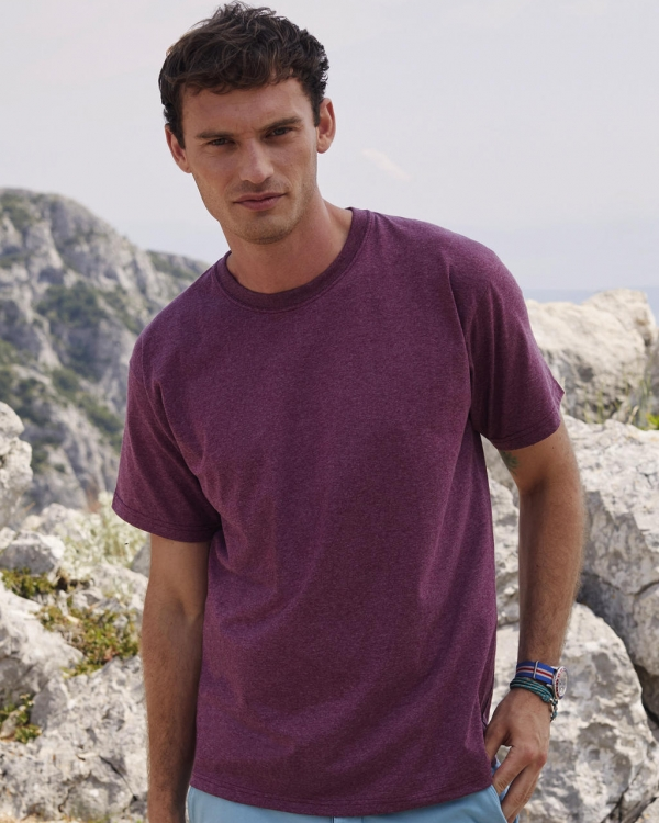 t-shirt personnalisable homme fruit of the loom