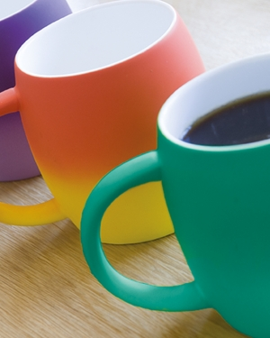 mug publicitaire coloré tie and dye