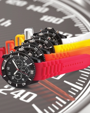 montre publicitaire chrono freeze