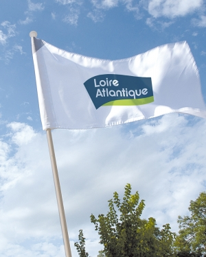 drapeau promotionnel personnalisable