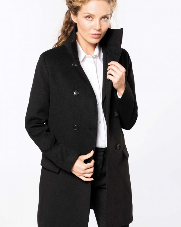 manteau promotionnel pour femme style corporate