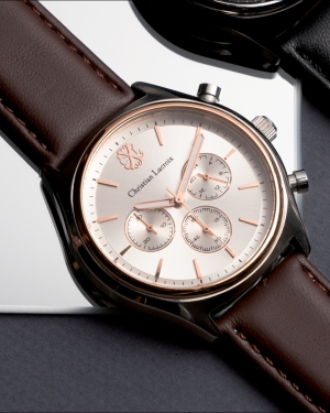 montre business chronographe Christian Lacroix