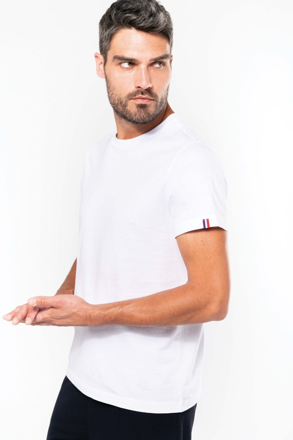 t-shirt promotionnel coton bio france pour homme