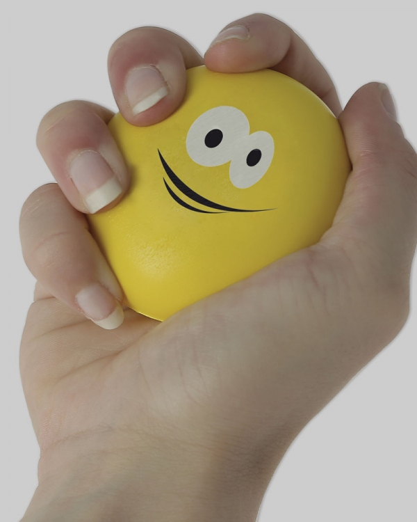 anti stress publicitaire balle smiley